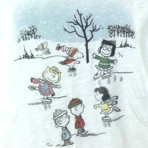 *3/$30** Abercrombie & Fitch Snowy Peanuts Tee